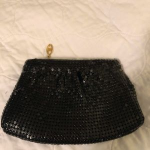 Handbags - Shimmery Black Evening bag-Like New
